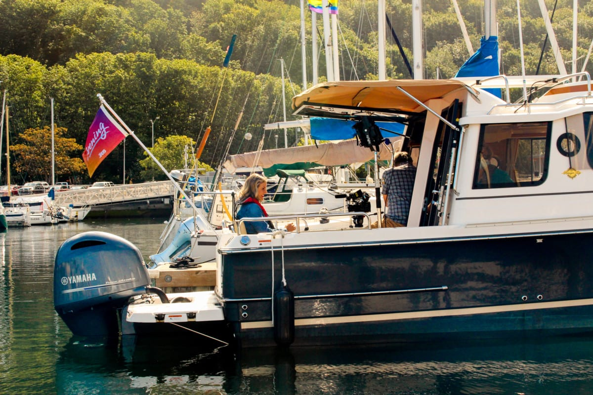 Carefree Boat Club Ranger Tug Featured on King 5 Evening
